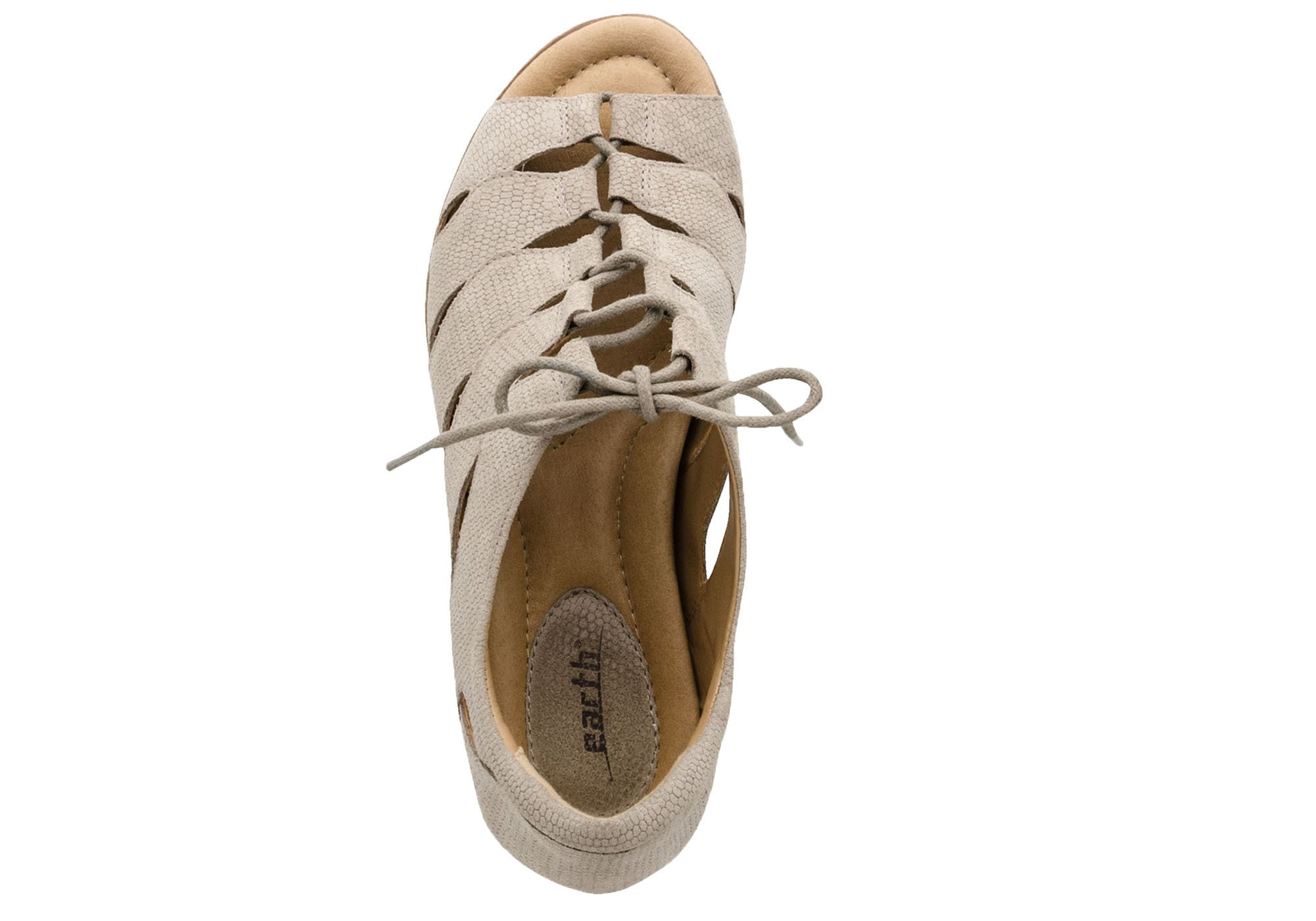 Earth Plover Womens Comfortable Leather Flats