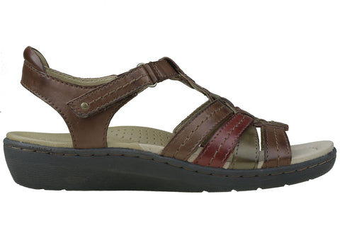 Planet Shoes Syrup Womens Comfortable Leather Supportive Sandals