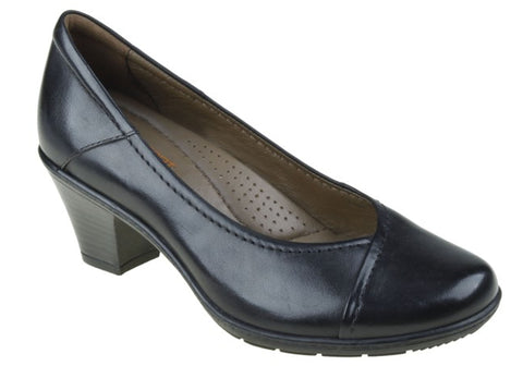 Planet Shoes Paige Womens Leather Comfortable Heels