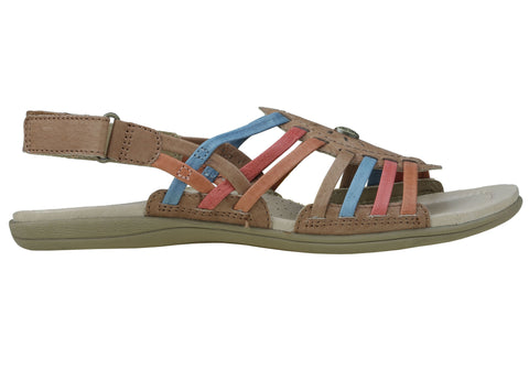 Planet Shoes Zenga3 Womens Comfortable Leather Fashion Flat Sandals