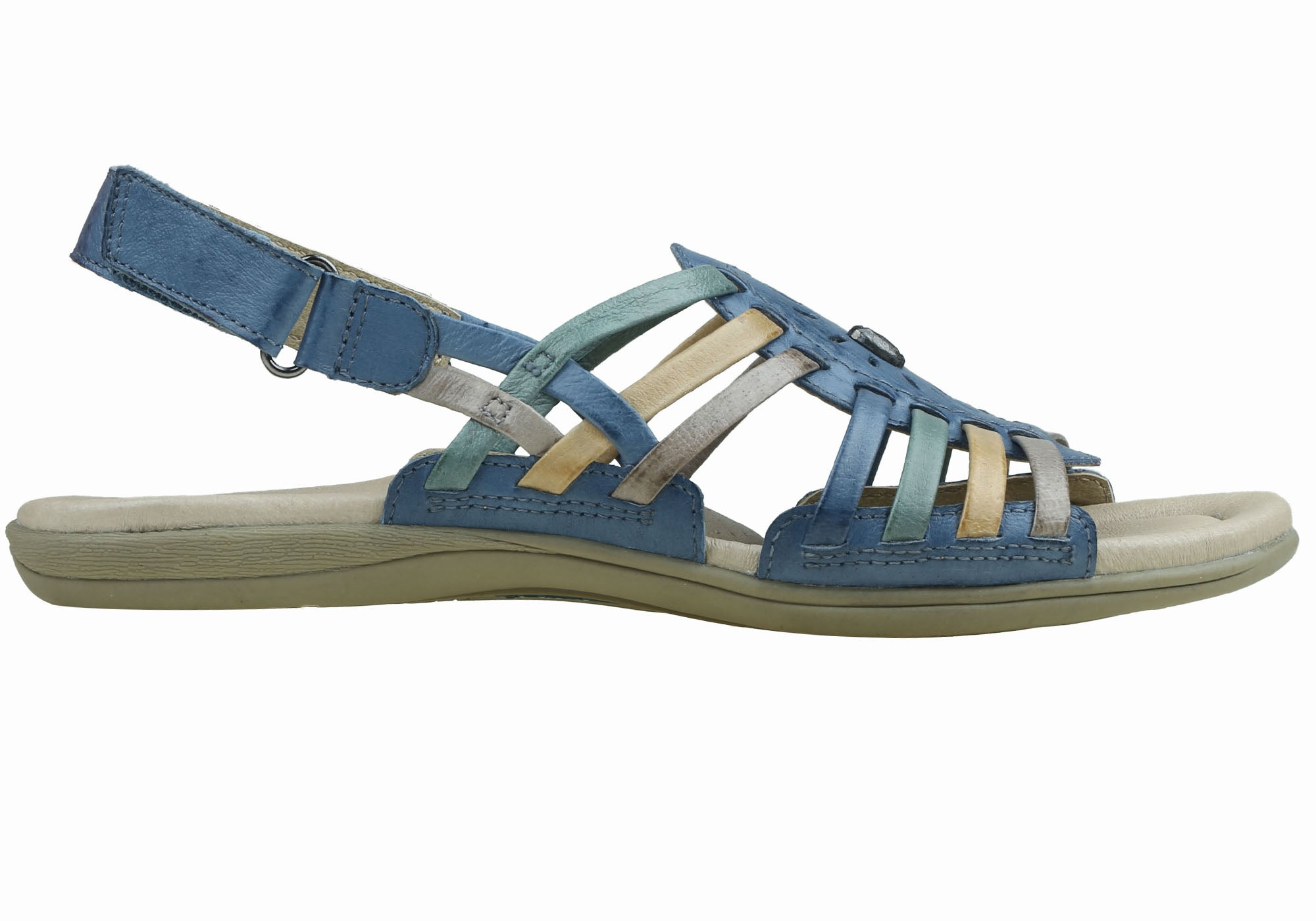 f614435961bc31 Planet Shoes Zenga3 Womens Comfortable Leather Fashion Flat Sandals ...