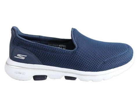 Skechers Go Walk 5 Womens Comfortable Wide Fit Machine Washable Shoes