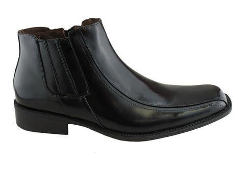 Raoul Merton Piston Mens Leather Dress Boots