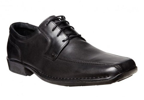 Hush Puppies Power Mens Leather Dress Shoes Wide Fit