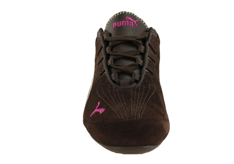puma etoile womens lace up casual low profile shoes