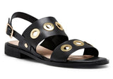Hush Puppies Relaxo Womens Leather Fashion Sandals