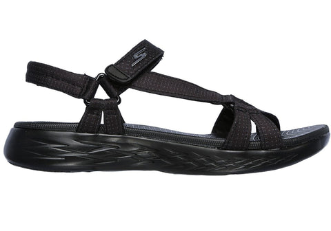 Skechers Womens On The Go Cushioned Comfort Sandals