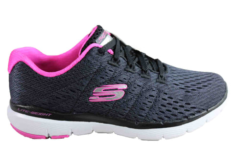 Skechers Womens Flex Appeal 3.0 Satellites Memory Foam Shoes