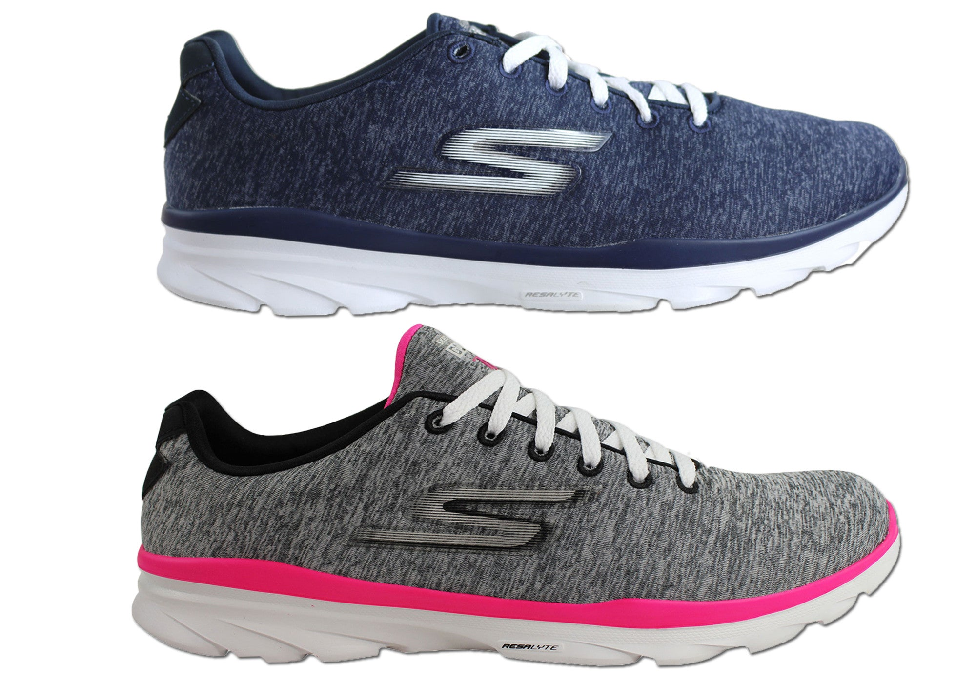 Skechers Go Fit Stellar Training Shoes Grey Blue Sports House