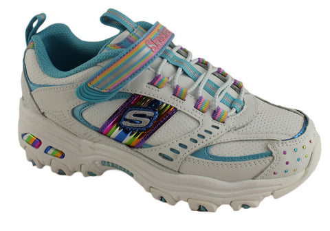 Skechers Dlites Double Hitters Kids Sneakers