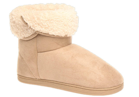 Grosby Invisible Snuggle Womens Boot Slippers