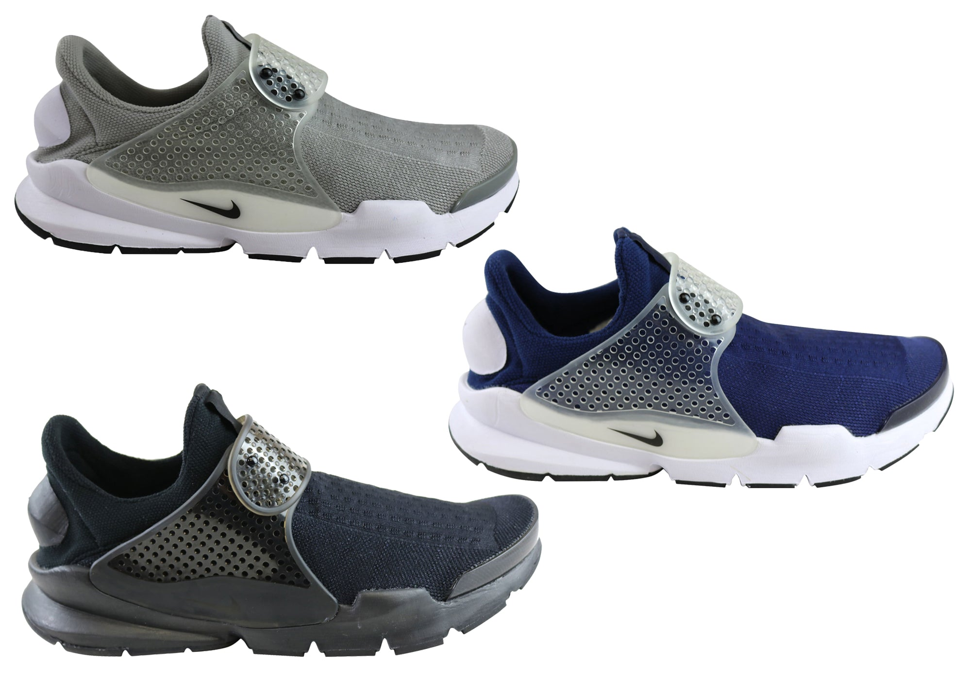 cdbe31c3d47 NEW NIKE SOCK DART MENS COMFORTABLE TRAINERS CASUAL SLIP ON SHOES