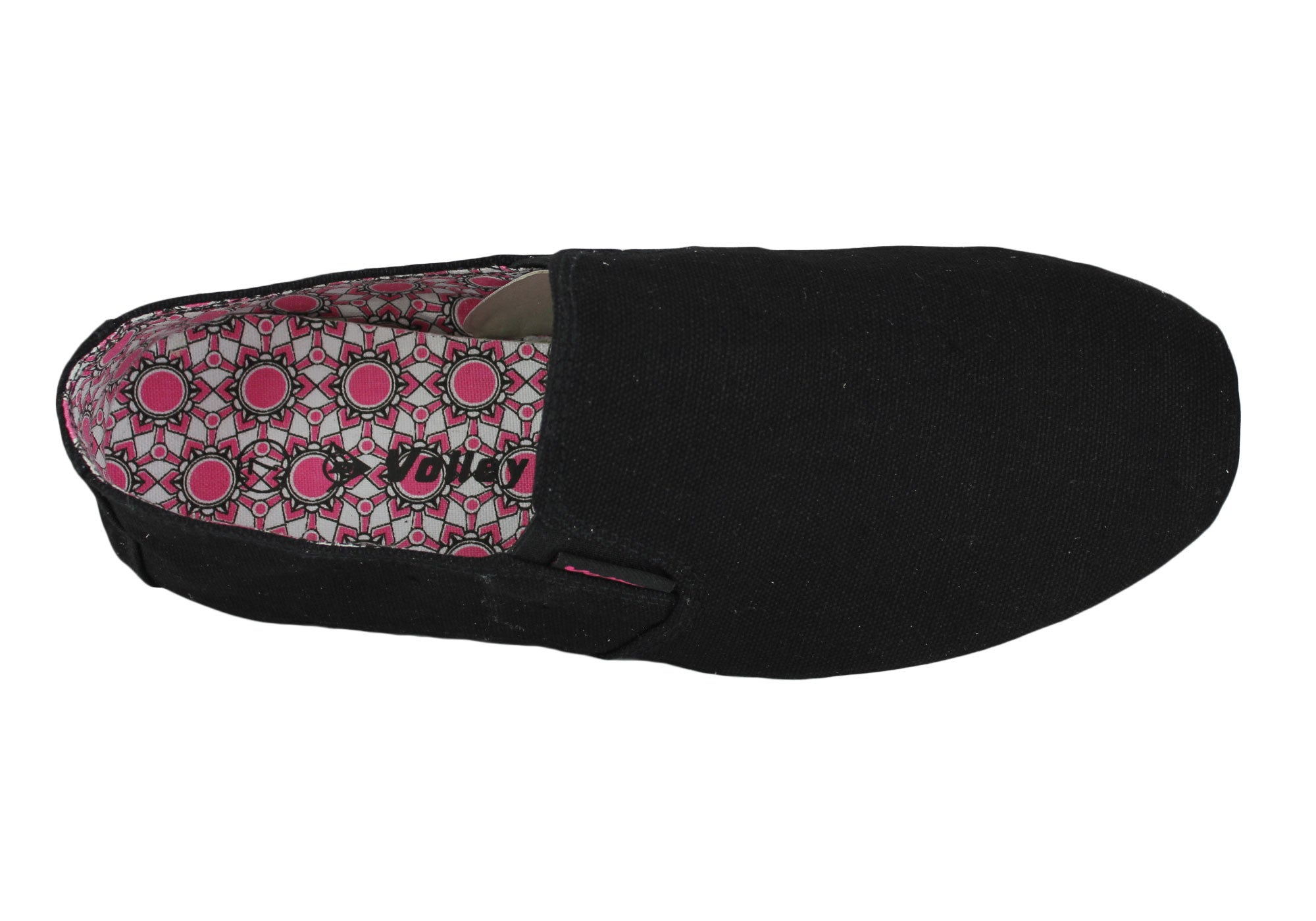 Volley Shogun Womens Canvas Slip On Casual Shoes