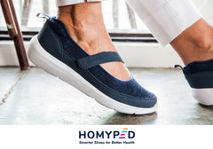 Homyped Swift Womens Supportive Comfortable Mary Jane Casual Shoes