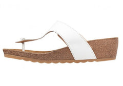 Hush Puppies Tickle Soothe Womens Leather Comfort Thongs