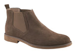 Hush Puppies Turner Mens Suede Chelsea Boots