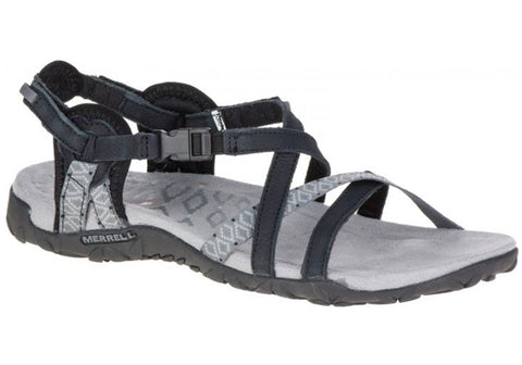 Merrell Womens Comfortable Flat Terran Lattice II Sandals