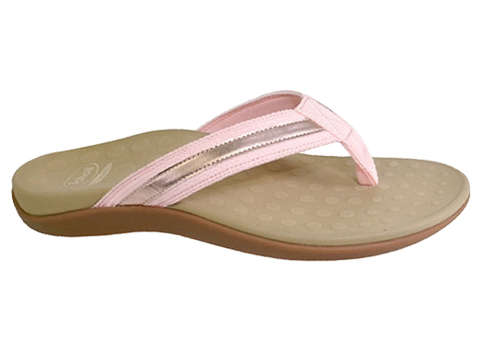 3a6ac37d468 Home Scholl Orthaheel Tide II Womens Supportive Orthotic Flip Flop Sandals.  Pink ...