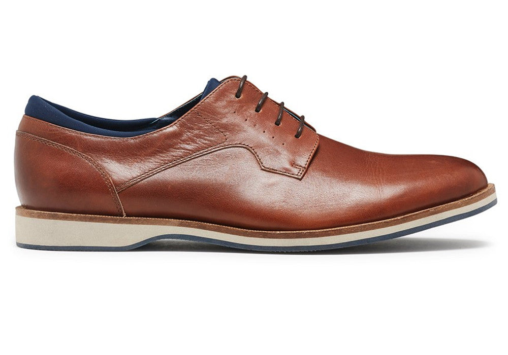 Julius Marlow Uptown Tan Mens Lace Up Shoes
