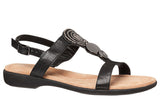 Hush Puppies Vesper Womens Leather Comfort Sandals