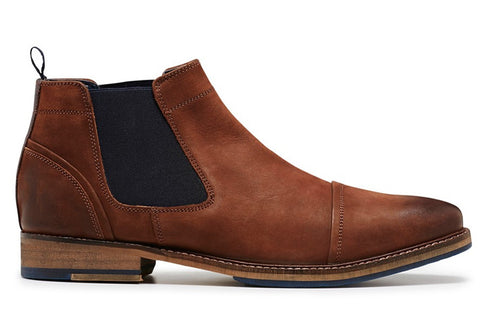 Julius Marlow Warthog Mens Leather Chelsea Boots