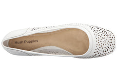 Hush Puppies Charee Callies Womens Leather Shoes