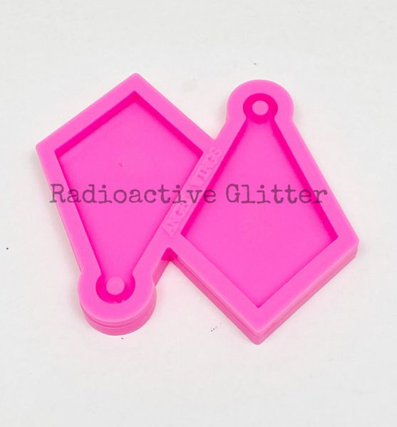 308 Medium Diamond Silicone Mold