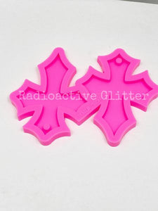 312 Large Cross Silicone Mold