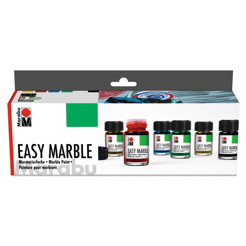 Marabu Easy Marble Starter Paint Set