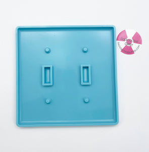 753 Double Light Switch Cover