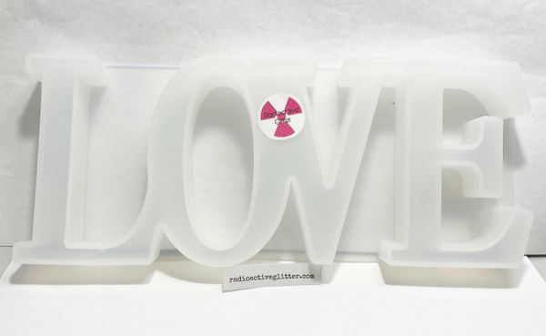 194 LOVE Sign Silicone Mold