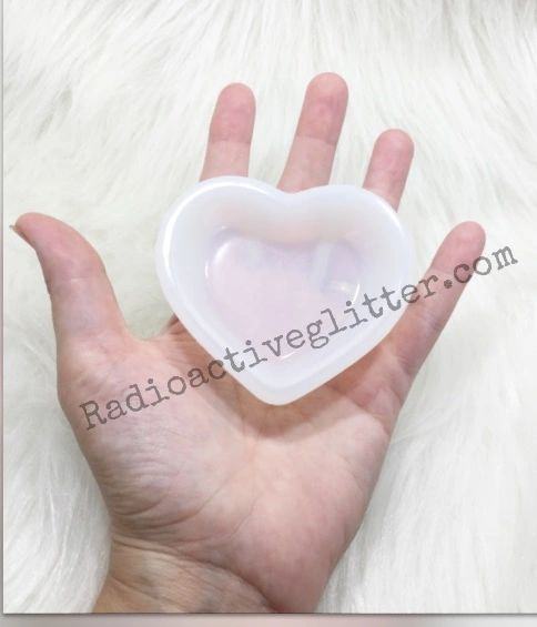 057 Heart Bowl Silicone Mold