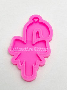 223 Candy Cane Silicone  Mold