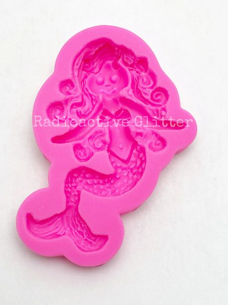 238 Mermaid Silicone Mold