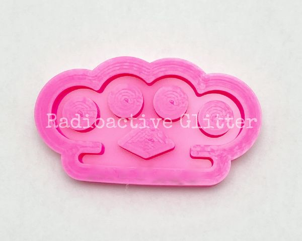 230 Brass Knuckles Silicone Mold