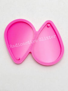 234 Large Solid Teardrop Silicone Mold