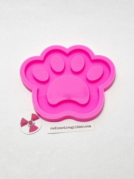 159  Paw Silicone Mold