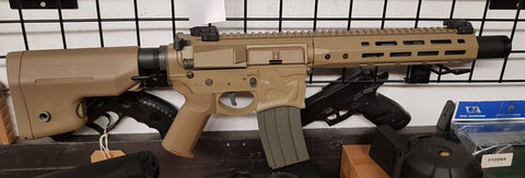 "EMG Sharps Bros 'Warthog' 10"" SBR AEG ***PREOWNED*** - Kill House CQB"