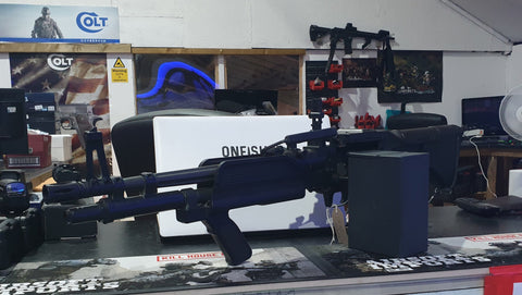 ASG M60 MK43 MOD0 Navy Seals AEG ***PREOWNED*** - Kill House CQB