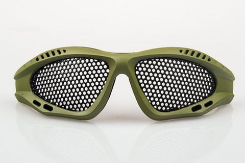 NUPROL SHADES MESH EYE PROTECTION - GREEN - Kill House CQB