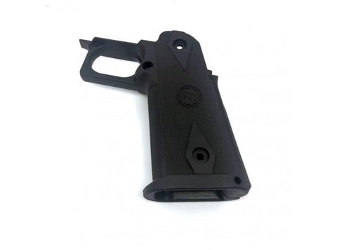 GK Tactical Nylon Grips for Tokyo Marui Hi-Capa GBB Series - Black - Kill House CQB