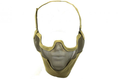 NUPROL MESH LOWER FACE SHIELD V2 - TAN - Kill House CQB