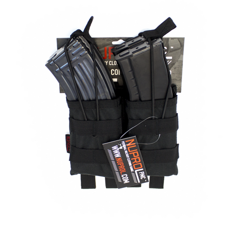 NUPROL PMC AK DOUBLE OPEN MAG POUCH - Kill House CQB