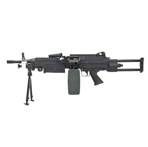 A&K M249 PARA Retractable Stock AEG - Kill House CQB