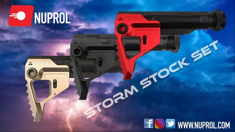NUPROL STORM STOCK SET - Kill House CQB