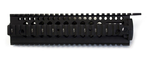 "NUPROL BOCCA SERIES THREE RAIL 9"" - BLACK - Kill House CQB"
