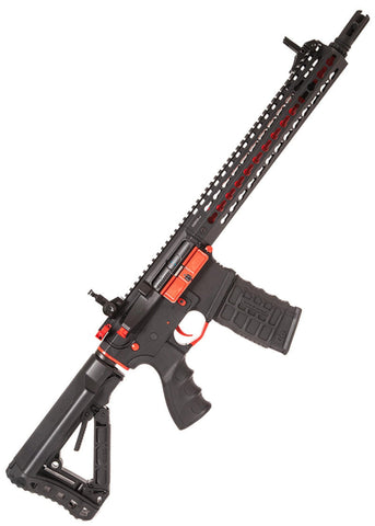 G&G Combat Machine AEG CM16 SRXL (Special Red Edition) with MOSFET & ETU - Kill House CQB