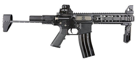 NUPROL DELTA FREEDOM FIGHTER AEG CARBINE, BLACK - Kill House CQB