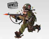 Limited Edition Hiwez WW2 1st Edition PVC Patch - 100% Proceeds to charity - Kill House CQB