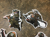 Limited Edition Hiwez DEVGRU 1st Edition PVC Patch - 100% Proceeds to charity - Kill House CQB